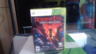 Juego Resident Evil Operation Raccoon City Xbox 360