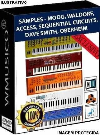 Samples - Moog Access Waldorf Dave Smith Oberheim Vintage