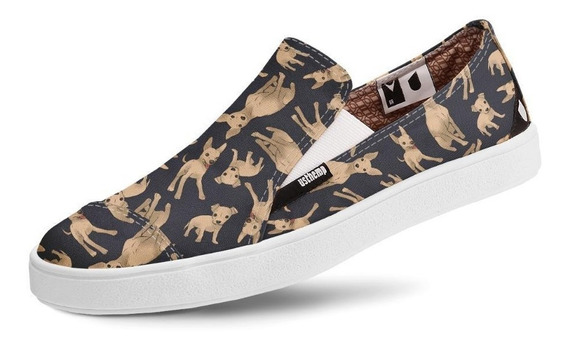 Tênis Usthemp Slip-on Vegano Pinscher Miniatura