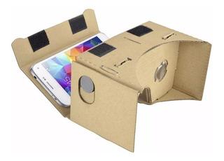 Google Cardboard Papelão Óculos Realidade Virtual 3d