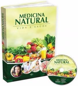 Medicina Natural & Alternativa Livro Impresso Original Cdrom