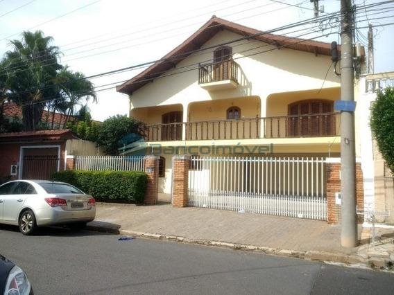 Casa Para Venda Parque São Quirino, Casas Para Venda Em Campinas - Ca01996 - 34006578