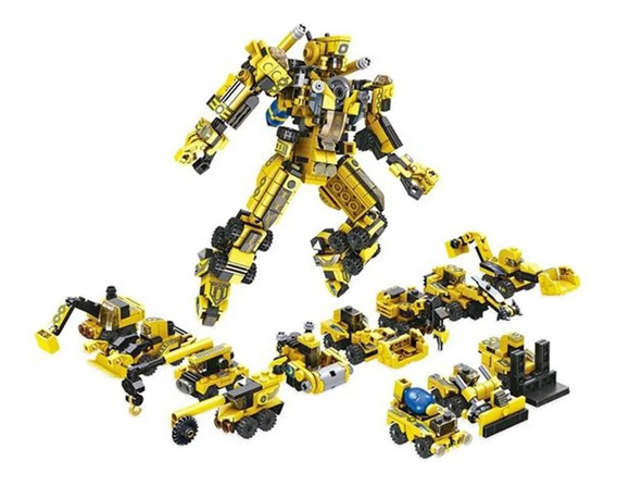 Blocos De Montar Cubic Lego Construção 12 Em 1 573 Peças