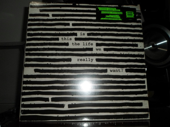Lp Roger Waters Is This The Life We Really Want? 2 Lp Verde