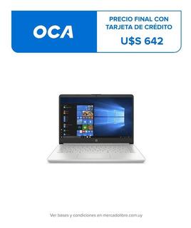 Notebook Hp Core I3 8gb 256gb Ssd Solido Español 100% Nueva