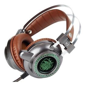 Fone Headset Gamer Driver 50mm Muito Bass E Profissional