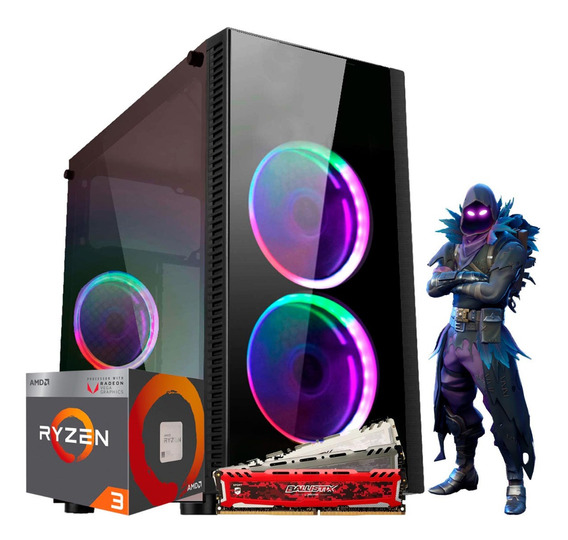 Pc Gamer Arena Owned Ryzen 3 2200g Vega 8, 8gb Hd 1tb
