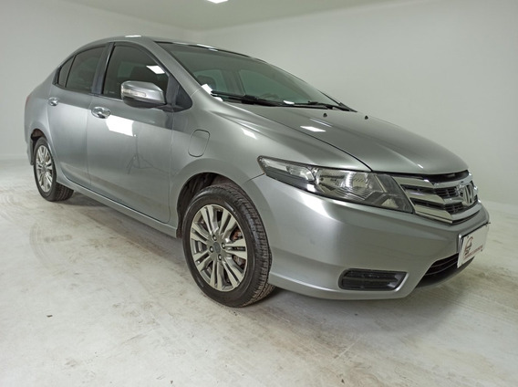 Honda City Sedan Ex 1.5 Flex 16v 4p Aut. - Cinza - 2013