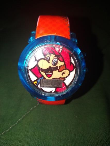 Reloj Mario Bros (nintendo 2017)