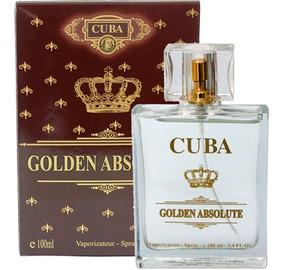 Perfume Cuba Golden Absolute Masculino 100 Ml