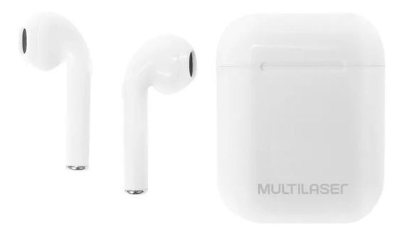 Fone De Ouvido Multilaser Tws Airbuds Ph326 Branco