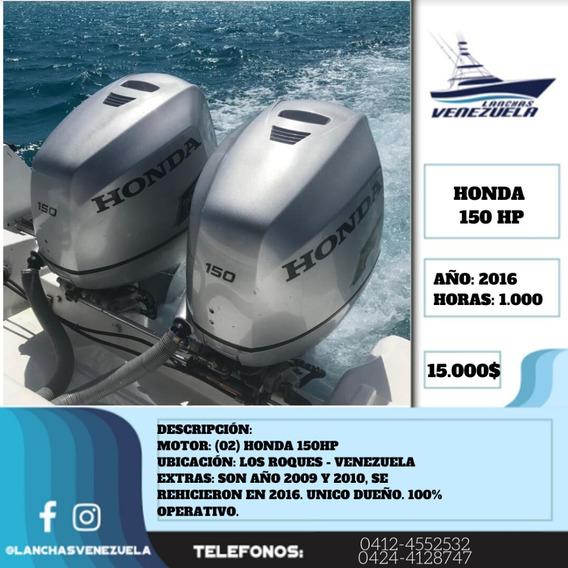 Par De Motores Honda 150hp Lv370