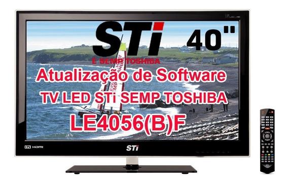 Software Para Atualização Tv Led Sti Le4056(b)f