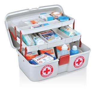 Maleta Plástica Para Primeiros Socorros - Emergência Médica
