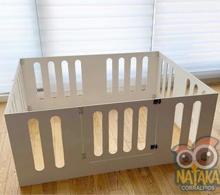 Corralito De Madera Para Bebes Plegable - 150x120