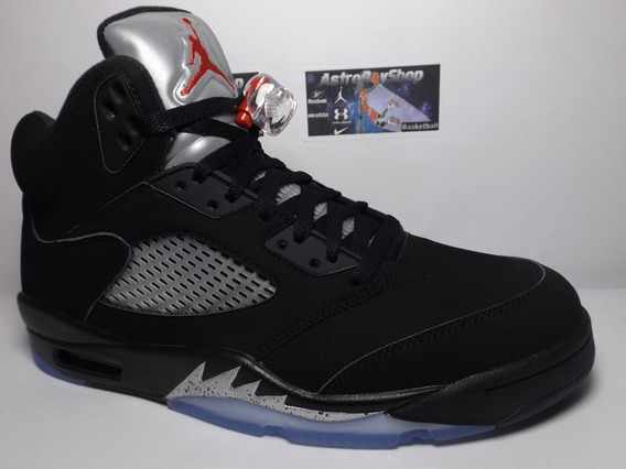 Air Jordan V Black Metallic Edition (32 Mex) Astroboyshop