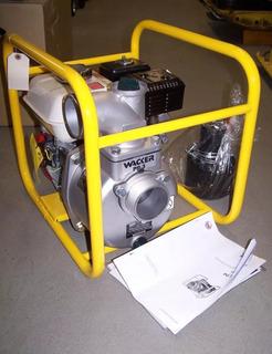 Motobomba Wacker Neuson Pg3. 3 Con Motor Honda Gx 5.5 Hp.