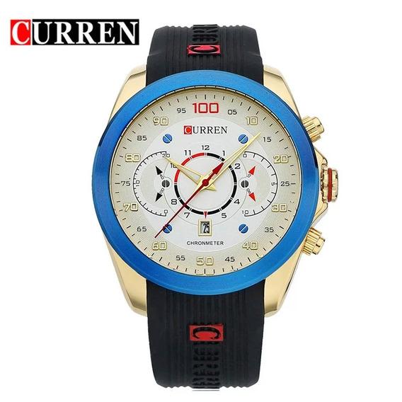 Relógio Masculino Curren 8166