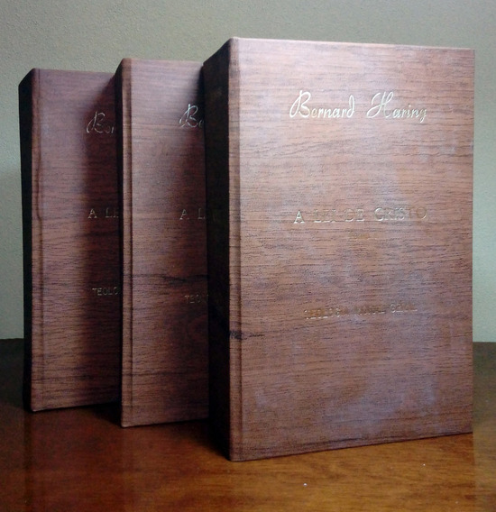 A Lei De Cristo 3 Volumes - Leia O Anúncio
