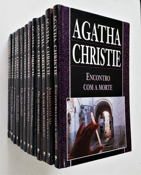 Lote Com 13 Livros Agatha Christie - Ver Liste Na Descrição