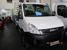 Iveco Daily Chassi 35s14 Ano 2014 C/madeira Apenas 44mil Km