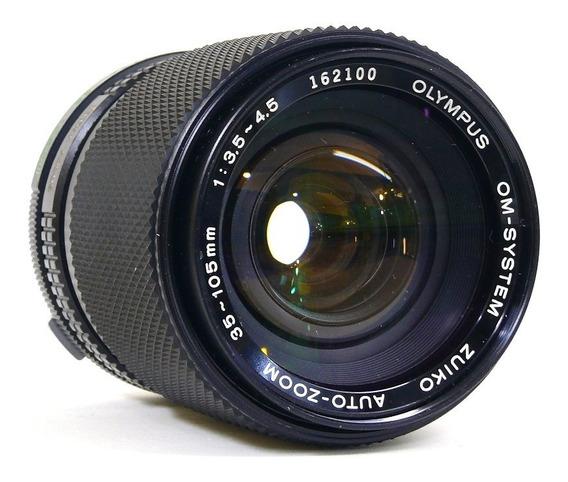 Objetiva Olympus Zuiko Auto-zoom 35-105mm.1:3.5-4.5