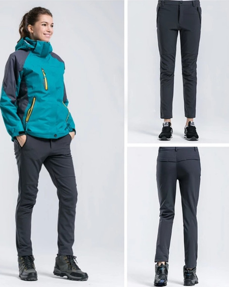 Pantalón Mujer Waterproof/softshell