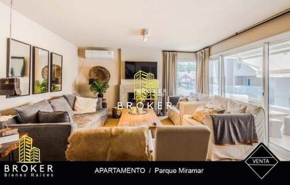 Apartamento 2 Dormitorios En Parque Miramar-ref:41
