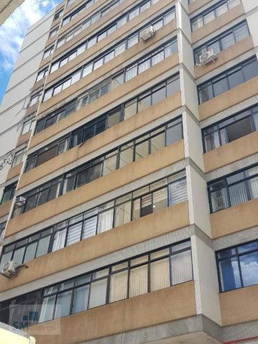 Sala Para Alugar, 38 M² Por R$ 750/mês - Centro - Santo André/sp - Sa0183