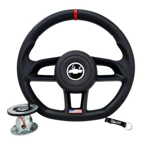 Volante Black Edition Para Corsa Classic Wind Celta Prisma