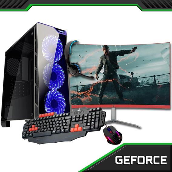Computador Gamer Core I7 7700 16 Gb 1 Tb Gtx 1050 2 Gb