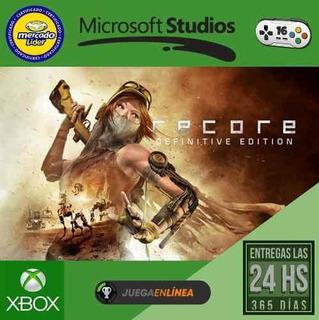 Recore Definitive Edition - Xbox One - Modo Local + En Linea