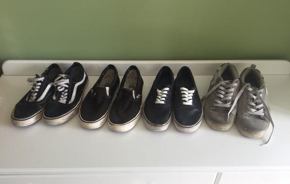 4 Tênis - Vans E Dc