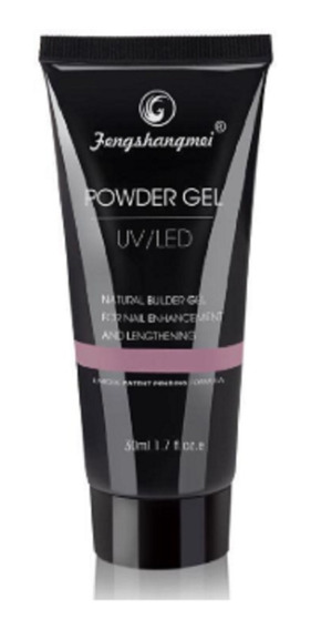 Powder Gel Polygel Uv Led Uñas Esculpidas 50 Ml Zona Sur