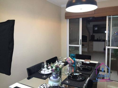Imagem 1 de 18 de Casa Com 3 Dormitórios À Venda, 90 M² Por R$ 430.000 - Vila Natureza - Cotia/sp - Ca1272