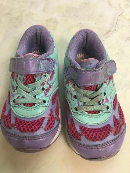 Zapatillas Para Niñas Talle 23,5