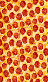 Cobija Diseño Pizza 1.10 X 1.80 Metros