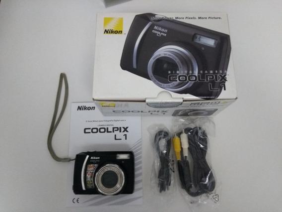 Câmera Digital Nikon Coopix L1