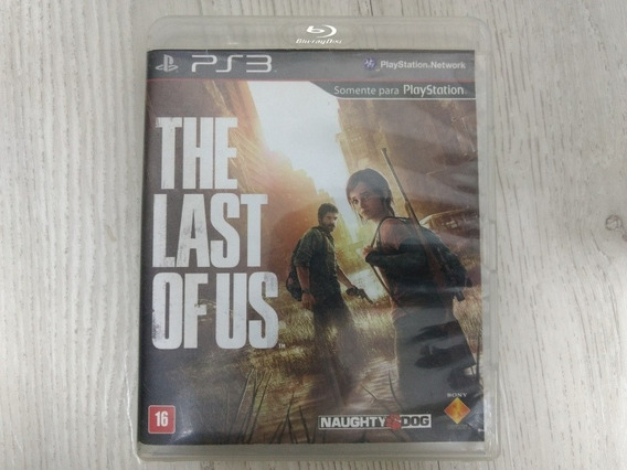 Jogo Ps3 The Last Of Us Mídia Física