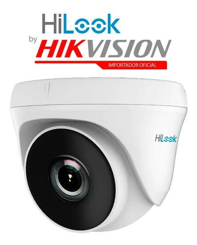 Imagen 1 de 4 de Camara Domo Hikvision Hilook Thc-t120-pc Cctv 1080p 2mp Int