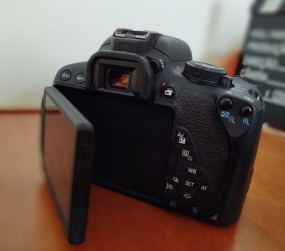 T5i Canon + Grip + Lentes + 3 Baterias E Mais