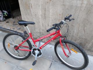 Bicicleta Halley Rod 24 Usada