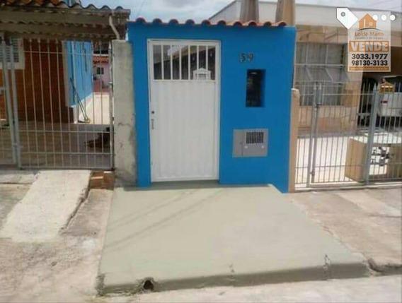 Casa À Venda, 55 M² Por R$ 150.000,00 - Além Ponte - Sorocaba/sp - Ca3775