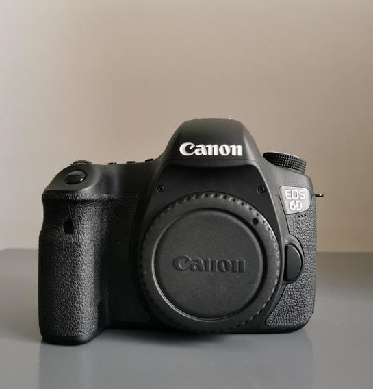 Câmera Fotográfica Canon Eos 6d Muito Nova 8k Cliques