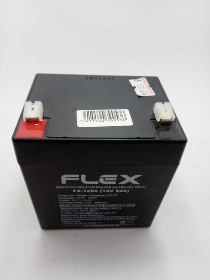 Bateria 12v 5a Selada Para Nobreak Estacionaria Fx-1250