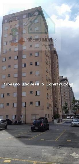 Apartamento Para Venda Em Cajamar, Portais (polvilho), 2 Dormitórios, 1 Banheiro, 1 Vaga - 0233