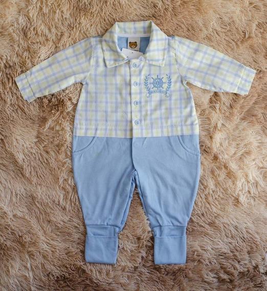 Macacão Longo Para Bebê, Menino, Pagão, Pronta Entrega