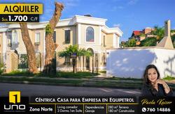 Linda Casa Para Empresas En Equipetrol