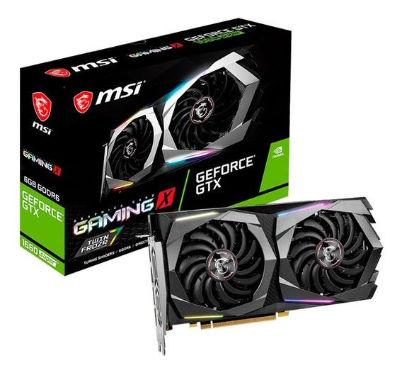 Placa De Video Msi Geforce Gtx 1660 Super Gaming X 6gb Ddr6