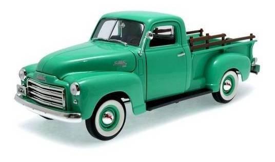 1950 Gmc Pickup Verde - Escala 1:18 - Yat Ming
